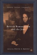 British Romanticism And The Jews