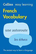 Cover of Collins Easy Learning French Vocabulary