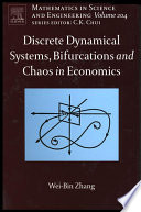 Discrete Dynamical Systems Bifurcations And Chaos In Economics