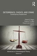 Deterrence, Choice, and Crime, Volume 23 Pdf/ePub eBook
