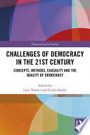 Challenges of Democracy in the 21st Century