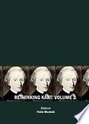 Rethinking Kant Volume 2