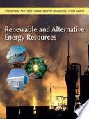 Renewable and Alternative Energy Resources