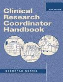 Clinical Research Coordinator Handbook