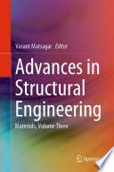 Advances In Structural Engineering Book PDF
