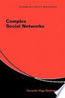 Complex Social Networks