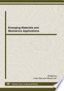 Emerging Materials And Mechanics Applications Book PDF