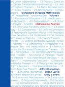 Foundations of Applied Mathematics, Volume I