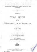 Official Year Book Of The Commonwealth Of Australia No 39 1953