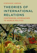 Theories of International Relations Pdf/ePub eBook