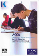 F8 Audit and Assurance AA  INT and UK    Exam Kit