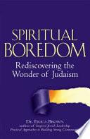 Spiritual Boredom