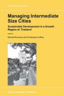 Managing Intermediate Size Cities