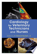 Cardiology For Veterinary Technicians And Nurses Book PDF