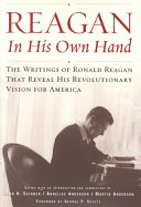 Reagan  in His Own Hand