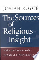 The Sources of Religious Insight Pdf/ePub eBook