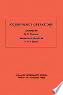 Cohomology Operations