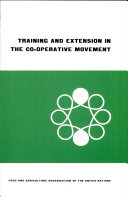 Pdf Training and Extension in the Co-operative Movement