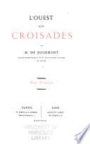 L'Ouest aux croisades