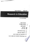Research in Education Book PDF