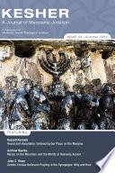 Kesher  A Journal of Messianic Judaism