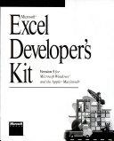 Microsoft Excel Developer S Kit