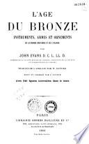 L'age du bronze instruments, armes et ornements de la Grande Bretagne et de l'Irlande Pdf/ePub eBook