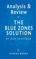 Analysis   Review of the Blue Zones Solution Book