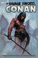Savage Sword of Conan: The Original Marvel Years Omnibus