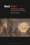 Red Kant  Aesthetics  Marxism and the Third Critique