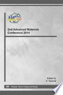 2nd Advanced Materials Conference 2014 Book