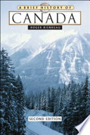 A Brief History of Canada Book
