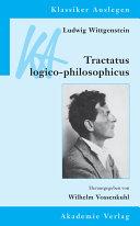 Ludwig Wittgenstein  Tractatus Logico Philosophicus