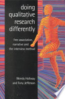 Doing Qualitative Research Differently Book PDF