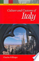 Culture And Customs Of Italy