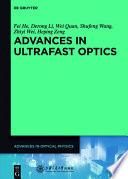 Advances in Ultrafast Optics