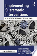 Implementing Systematic Interventions