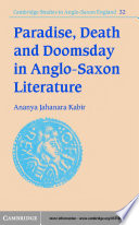 Paradise  Death and Doomsday in Anglo Saxon Literature