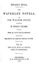 The Waverley Novels  St  Valentine s day  Anne of Geierstein