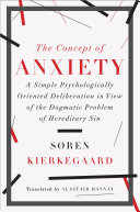 Pdf The Concept of Anxiety: A Simple Psychologically Oriented Deliberation in View of the Dogmatic Problem of Hereditary Sin