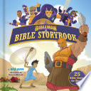 Bibleman Bible Storybook (padded) Book Cover