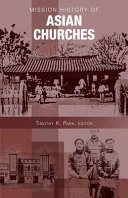 Mission History of Asian Churches