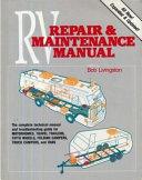 Trailer Life s RV Repair   Maintenance Manual Book