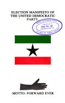 Election Manifesto of the United Democratic Party