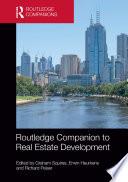 Routledge Companion to Real Estate Development Book PDF