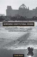 Borrowing Constitutional Designs