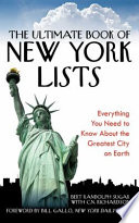 The Ultimate Book of New York Lists Book