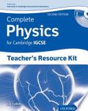 Complete Physics for Cambridge IGCSE®: Teacher's Resource Pack