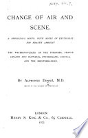 Change of Air and Scene Book