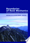 Boundaries of Rock Mechanics